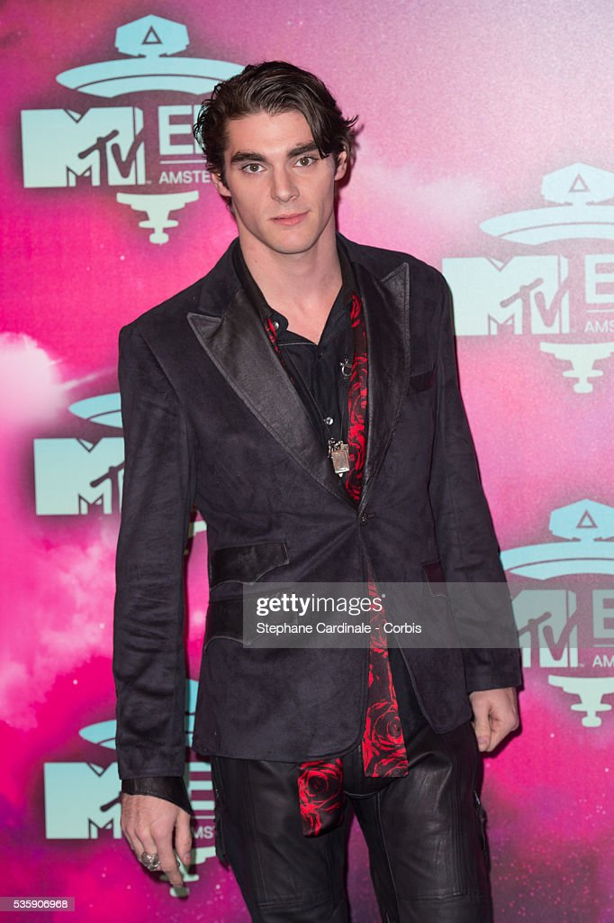 RJ Mitte attends the MTV EMA's 2013 at the Ziggo Dome in Amsterdam, Netherlands.