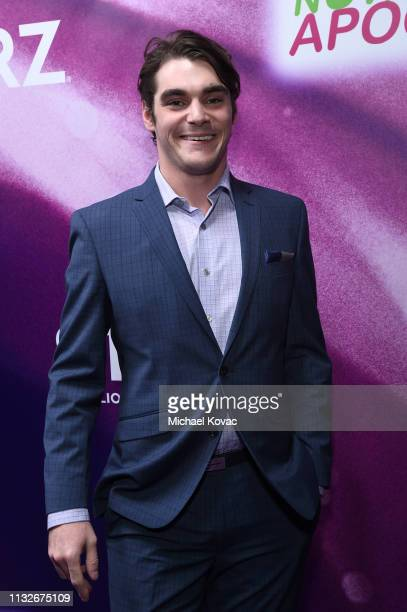 """Mitte attends the """"Now Apocalypse"""" Los Angeles Premiere at Hollywood Palladium on February 27, 2019 in Los Angeles, California."""
