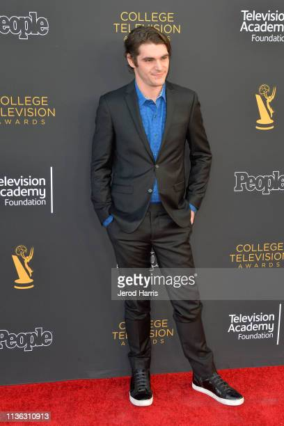 Mitte attends The Television Academy Foundation's 39th College Television Awards at Wolf Theatre on March 16 2019 in North Hollywood California