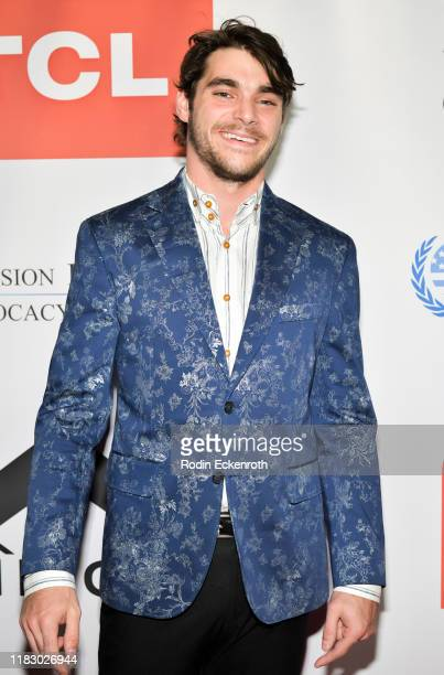 Mitte attends the Television Industry's 5th Annual Advocacy Honors at TCL Chinese 6 Theatres on October 23, 2019 in Hollywood, California.