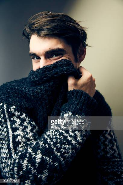 Mitte from the film 'Time Share' poses for a portrait at the YouTube x Getty Images Portrait Studio at 2018 Sundance Film Festival on January 19,...