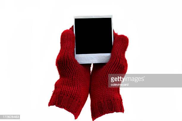 Mitten and a picture