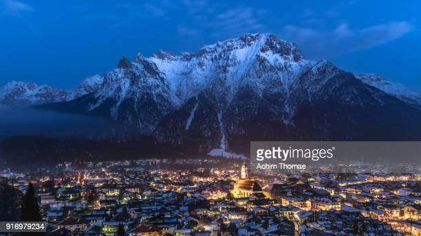 mittenwald, bavaria, germany, europe - bavaria stock pictures, royalty-free photos & images