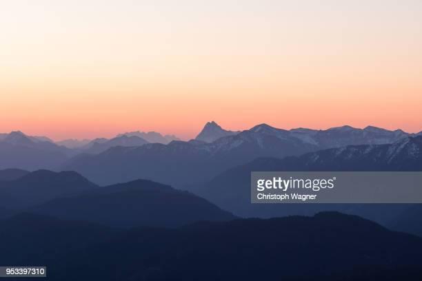 mittenwald - karwendel - bavarian alps stock pictures, royalty-free photos & images