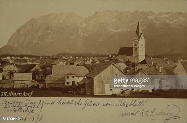 Mitterndorf 1899 Photograph