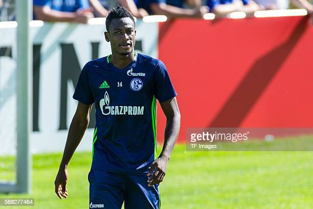 Mittersill Oesterreich Trainingslager FC Schalke 04 Abdul Rahman Baba