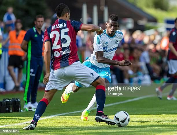 Mittersill Oesterreich Testspiel FC Schalke 04 FC Bologna Adam Masina gegen Breel Embolo