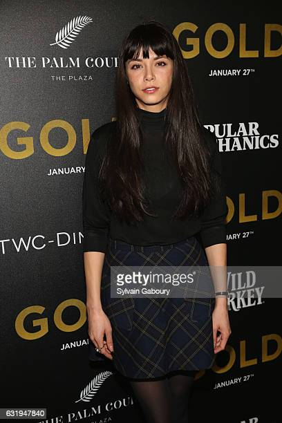 Mitzi Akaha attends TWCDimension with Popular Mechanics The Palm Court Wild Turkey Bourbon Host the Premiere of Gold at AMC Loews Lincoln Square on...