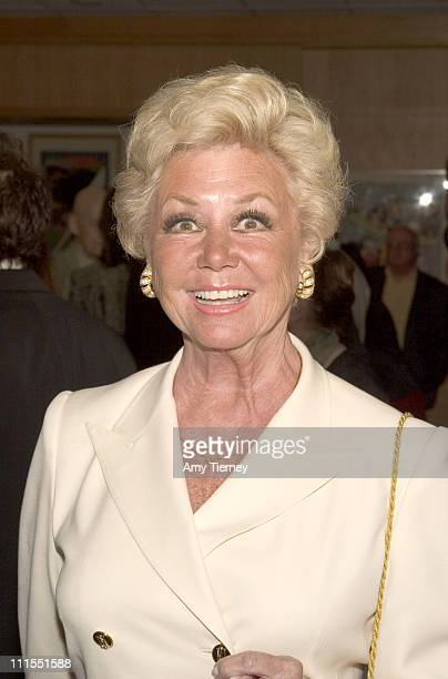 Mitzi Gaynor during A Centennial Tribute to Harold Arlen at Academy of Motion Picture Arts and Sciences in Beverly Hills California United States