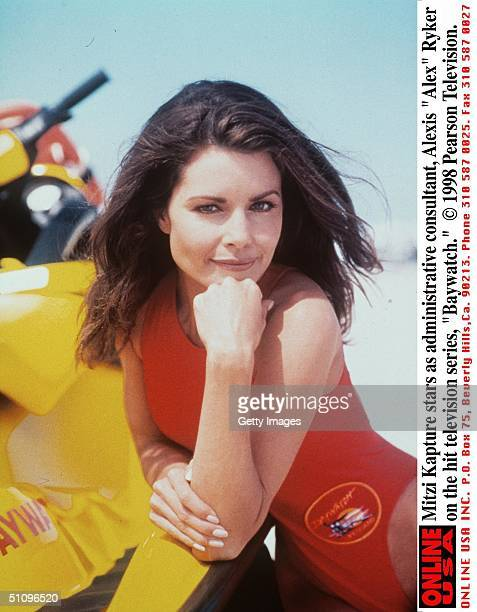 Mitzi Kapture Stars As Administrative Consultant Alexis Alex Ryker On The Hit Television Series Baywatch 19981999 Season