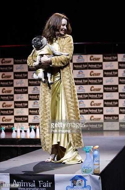Mitzi KaptureDonahue during Febreze Presents Animal Fair Magazine's 7th Annual Paws For Style Celebrity Pet Fashion Show Benefiting Animal Medical...
