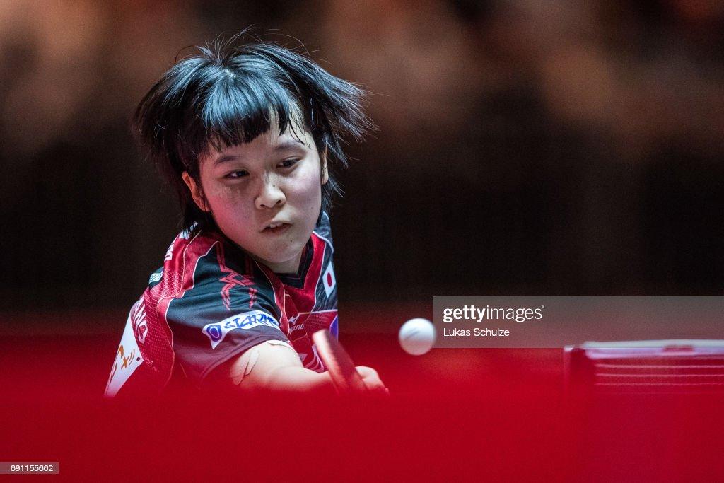 Table Tennis World Championship - Day 4 : News Photo