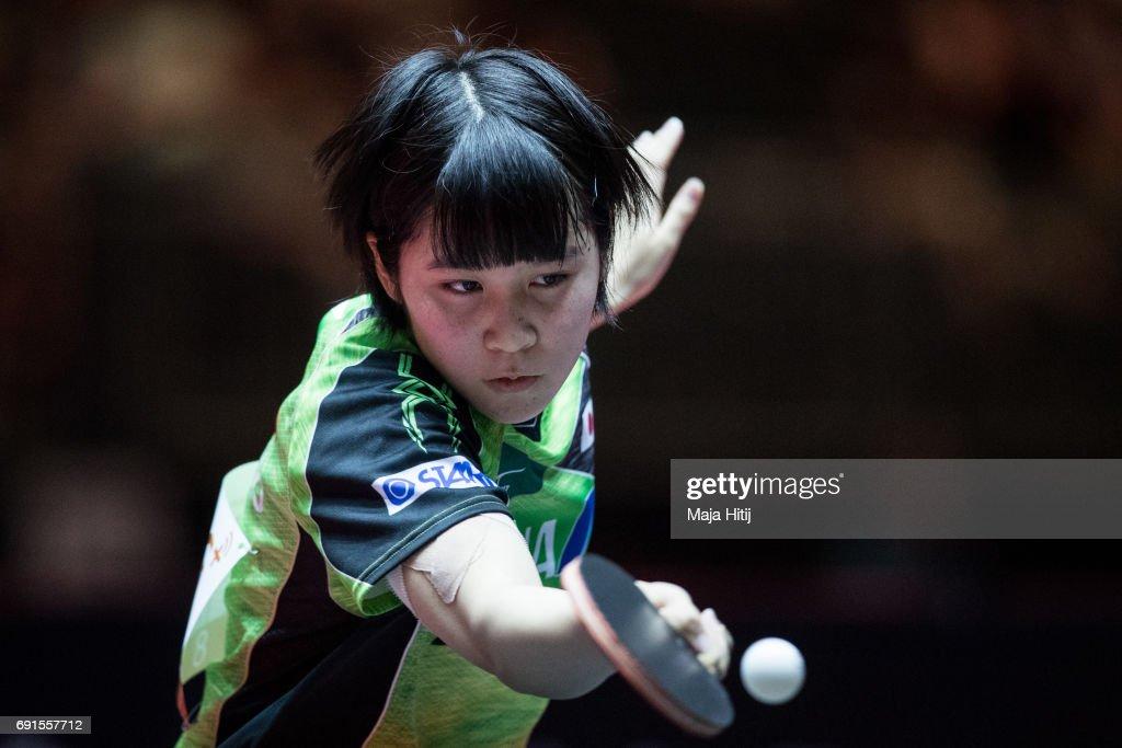 Table Tennis World Championship - Day 5 : ニュース写真
