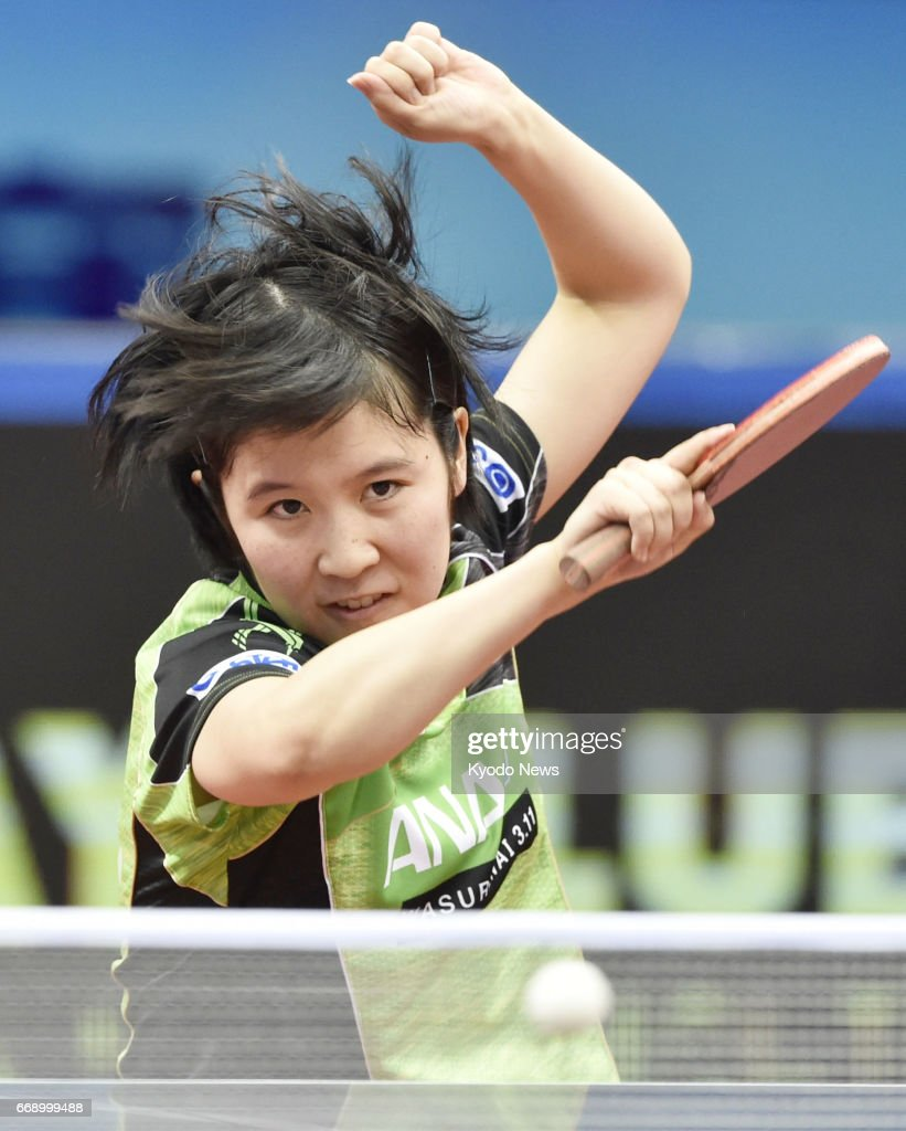 Table tennis: Hirano stuns China's best to win 1st Asian crown : ニュース写真