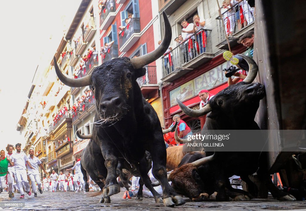 Day 9 - San Fermin Running of the Bulls 2018