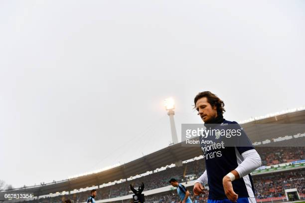 Mix Diskerud of IFK Goteborg ahead of the Allsvenskan match between IFK Goteborg and Malmo FF at Ullevi on April 1 2017 in Gothenburg Sweden