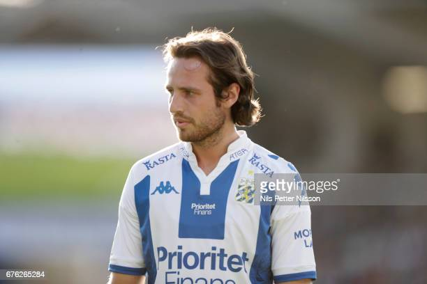 Mix Diskerud of IFK Goteborg during the Allsvenskan match between BK Hacken and IFK Goteborg at Bravida Arena on May 2 2017 in Gothenburg Sweden