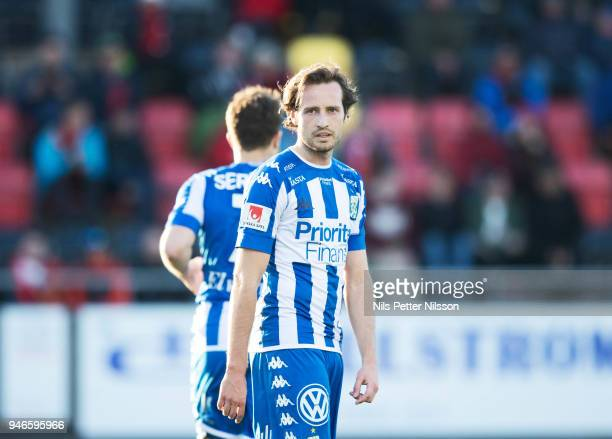 Mix Diskerud of IFK Goteborg during the Allsvenskan match between Ostersunds FK and IFK Goteborg at Jamtkraft Arena on April 15 2018 in Ostersund...