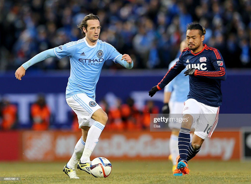 New England Revolution v New York City FC : News Photo