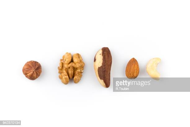 mix of various nuts