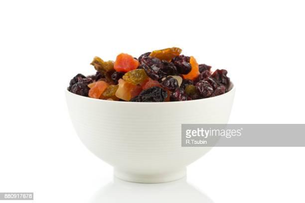 mix variety of dried fruit - passas - fotografias e filmes do acervo