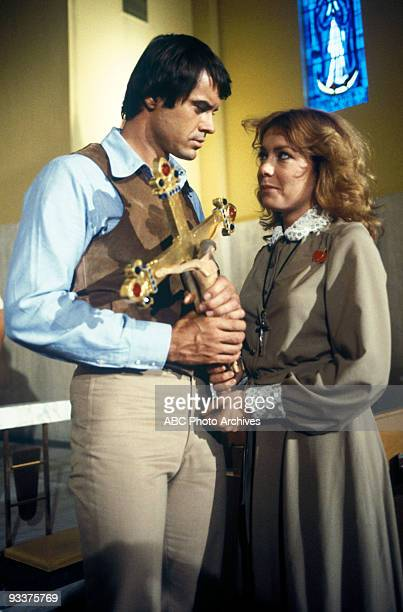 VEGA$ Mixed Blessings Season Two 10/3/79 Robert Urich Cassie Yates as Sister Bridget on the Walt Disney Television via Getty Images Television...