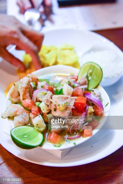 Mixed ceviche