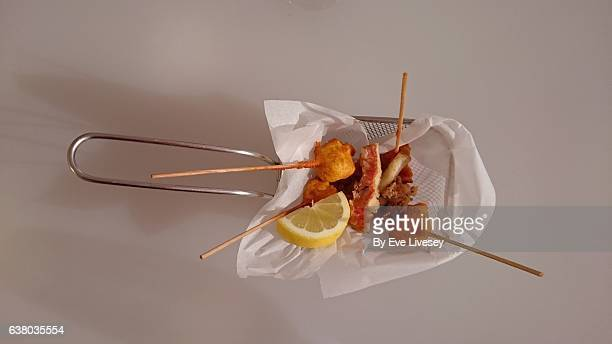 Mixed Fried Fish Dish