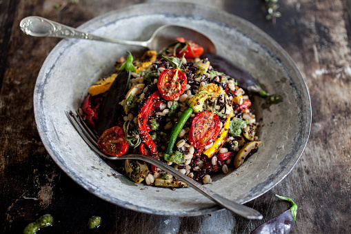 Mixed grain salad - gettyimageskorea