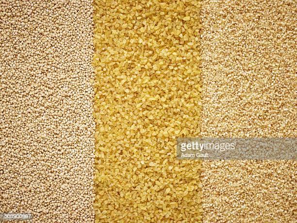 mixed grains - bulgur bildbanksfoton och bilder