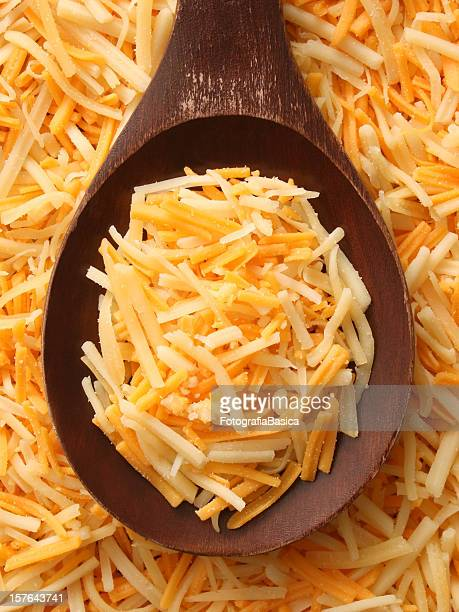 Mixed grated cheeses