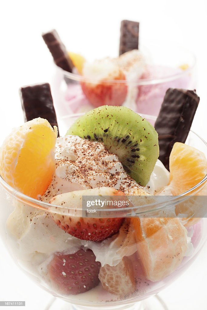 Mixed ice cream : Stock Photo