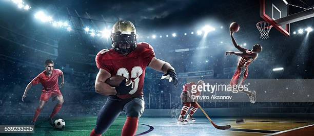mixed main sports - sport stock pictures, royalty-free photos & images