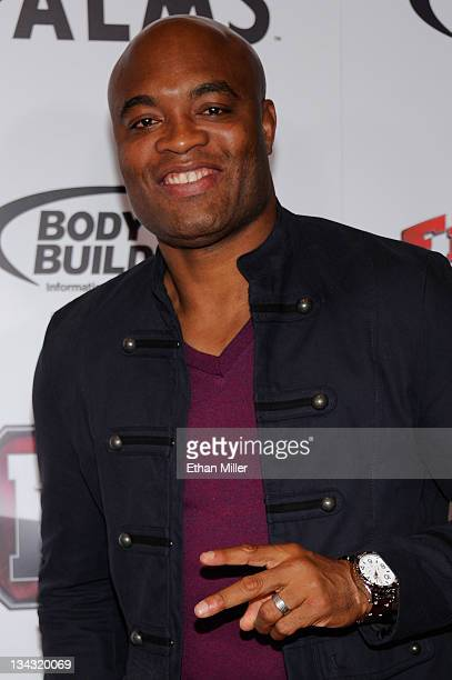 Mixed martial artist Anderson Silva arrives at the Fighters Only World Mixed Martial Arts Awards 2011 at the Palms Casino Resort November 30 2011 in...