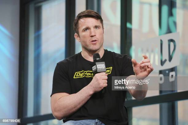 Mixed martial artist Chael Sonnen visits Build to discuss Bellator MMA at Build Studio on June 20 2017 in New York City