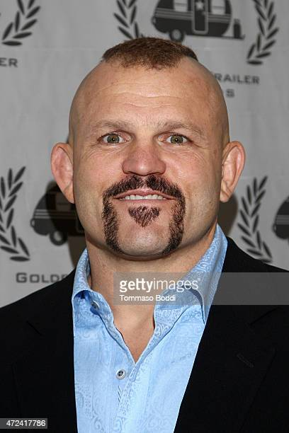 Mixed martial artist Chuck Liddell attends the 16th annual Golden Trailer Awards held at Saban Theatre on May 6 2015 in Beverly Hills California