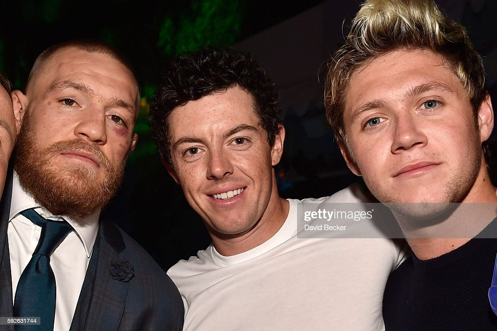Conor McGregor Official Fight After Party At Intrigue Nightclub, Wynn Las Vegas : News Photo
