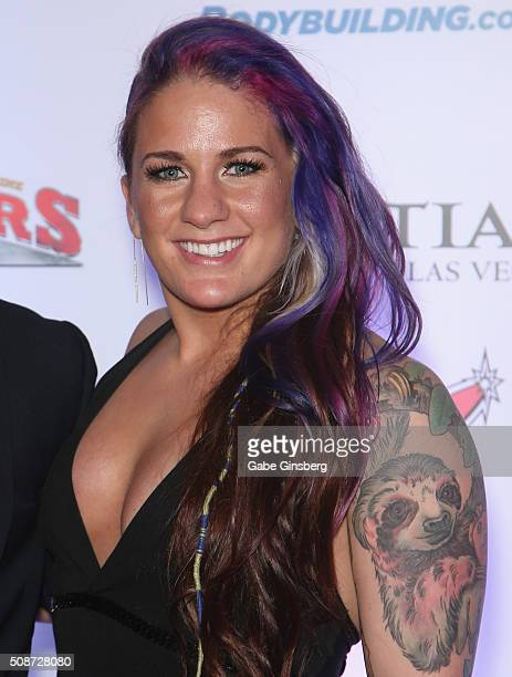 Mixed martial artist Gina Danger Mazany attends the eighth annual Fighters Only World Mixed Martial Arts Awards at The Palazzo Las Vegas on February...