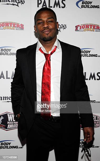 Mixed martial artist Jon Jones arrives at the third annual Fighters Only World Mixed Martial Arts Awards 2010 at the Palms Casino Resort December 1...