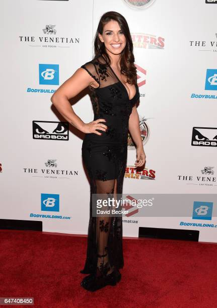 Mixed martial artist Mackenzie Dern attends the ninth annual Fighters Only World Mixed Martial Arts Awards at The Palazzo Las Vegas on March 2 2017...