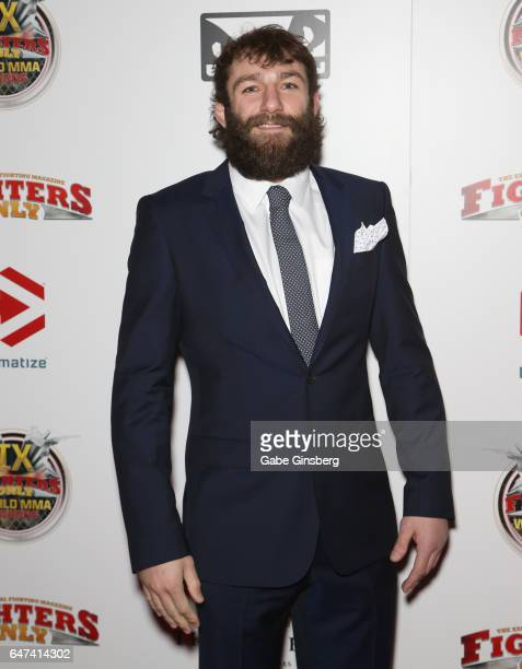 Mixed martial artist Michael Chiesa attends the ninth annual Fighters Only World Mixed Martial Arts Awards at The Palazzo Las Vegas on March 2 2017...