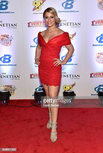 Mixed martial artist Paige VanZant arrives at the eighth annual Fighters Only World Mixed Martial Arts Awards at The Palazzo Las Vegas on February 5,...