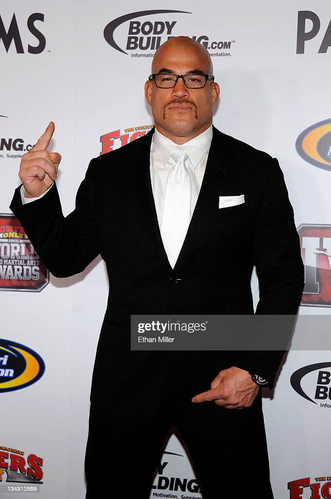 Mixed martial artist Tito Ortiz arrives at the Fighters Only World Mixed Martial Arts Awards 2011 at the Palms Casino Resort November 30, 2011 in Las Vegas, Nevada.