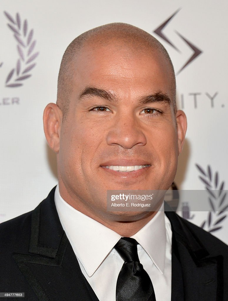 Mixed martial artist Tito Ortiz attends the 15th Annual Golden Trailer Awards at Saban Theatre on May 30, 2014 in Beverly Hills, California.