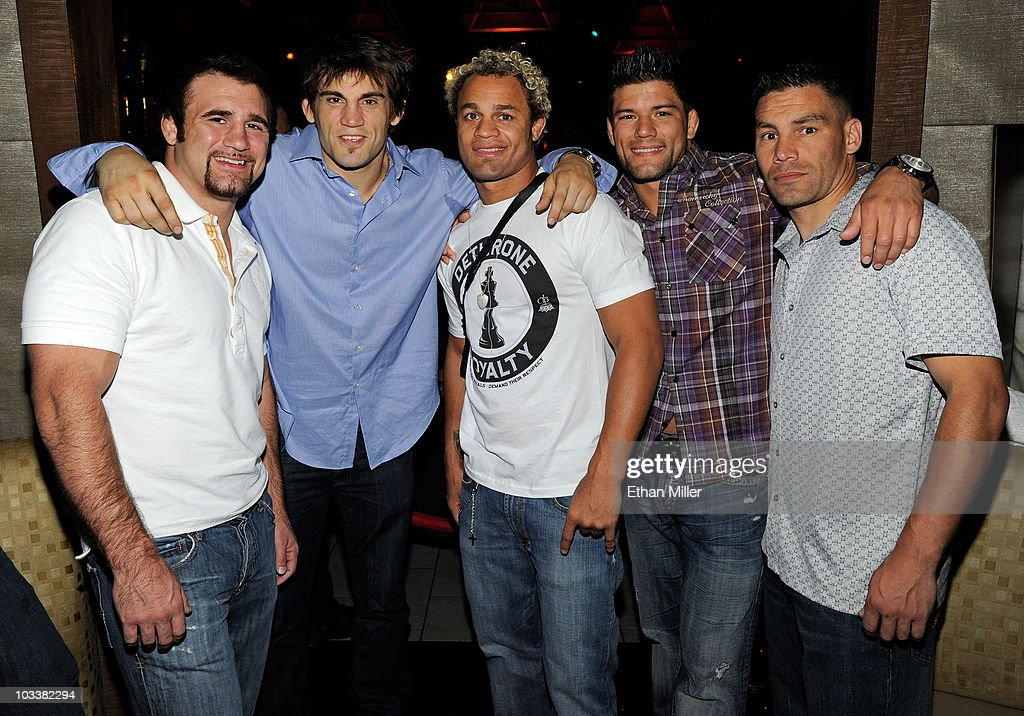 UFC Fighters Throw Bachelor Party For Jon Fitch At MGM's Tabu Ultra Lounge