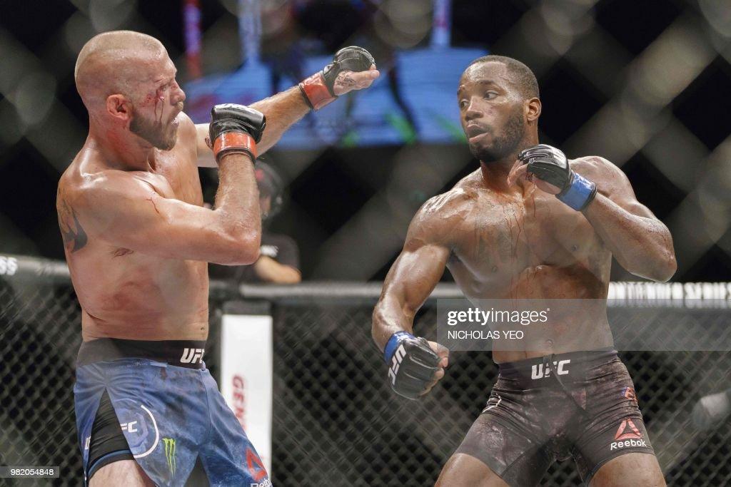 MMA-UFC-SIN : Nieuwsfoto's