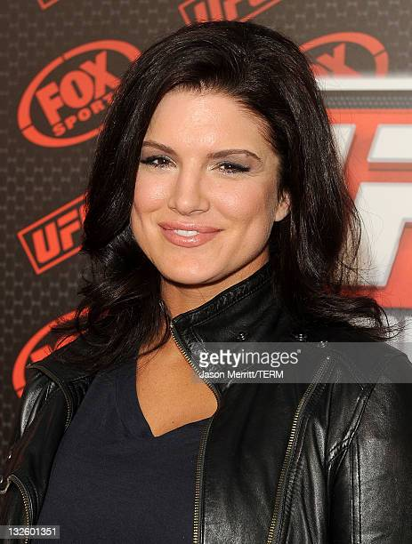 Mixed martial arts fighter Gina Carano attends UFC on Fox Live Heavyweight Championship at the Honda Center on November 12 2011 in Anaheim California