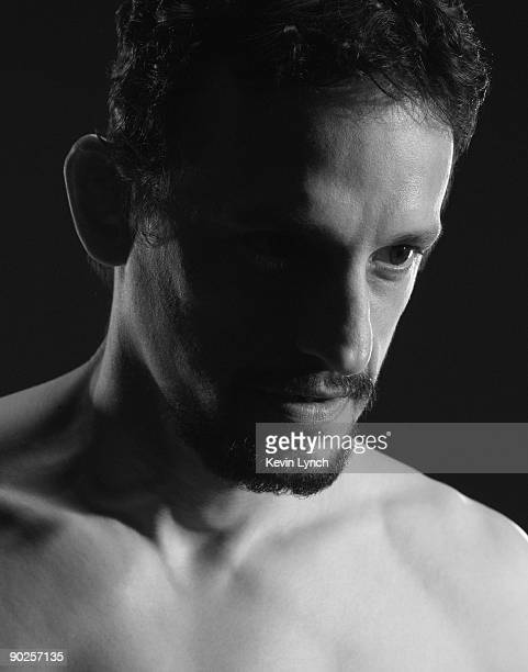 Mixed martial arts, submission wrestling, and wrestling instructor, as well as an MMA coach Rico Chiapparelli is photographed for Sony Pictures...