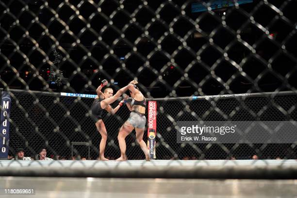 UFC 244 Jennifer Maia in action vs Katlyn Chookagian during Women's Flyweight bout at Madison Square Garden New York NY CREDIT Erick W Rasco