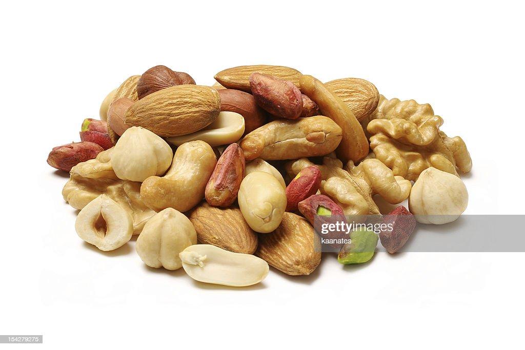 Mixed nuts : Stock Photo